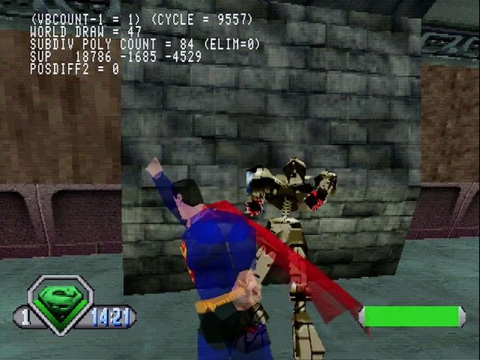 superman psx 11 - Prototyp gry Superman na PSX ma wkrótce trafić do sieci. Zapraszam na gameplay z gry.