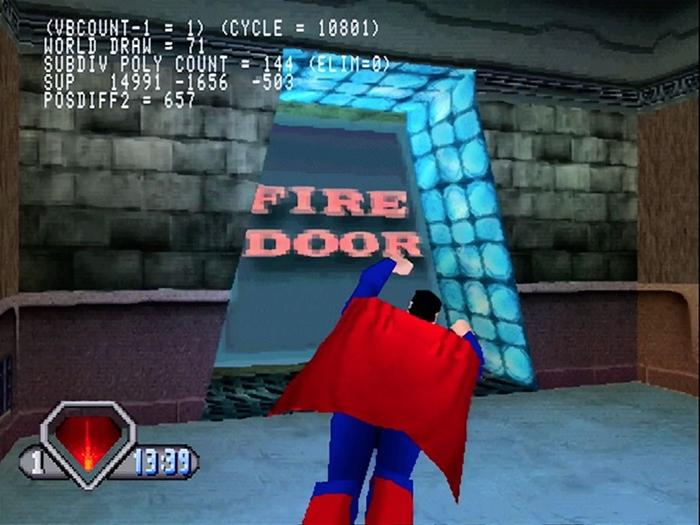 superman psx 12 - Prototyp gry Superman na PSX ma wkrótce trafić do sieci. Zapraszam na gameplay z gry.