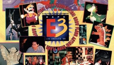e3 1996 baner 384x220 - Historia targów E3 z 1996 roku. Nintendo 64 wkracza na salony.