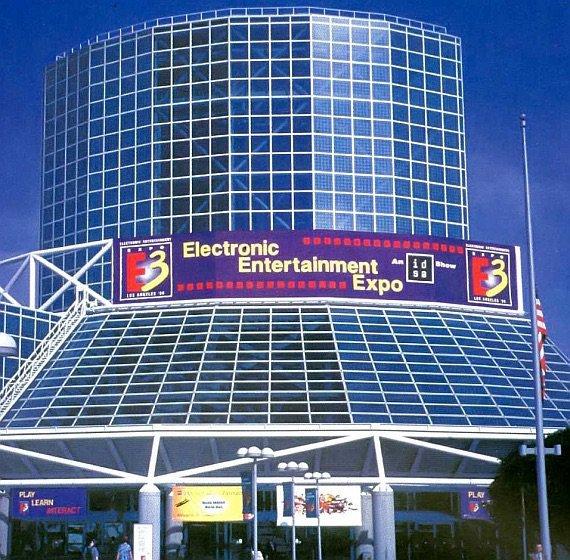 e3 1996 convention center - Historia targów E3 z 1996 roku. Nintendo 64 wkracza na salony.