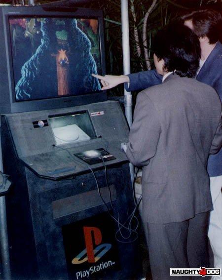 e3 1996 crash bandicoot - Historia targów E3 z 1996 roku. Nintendo 64 wkracza na salony.