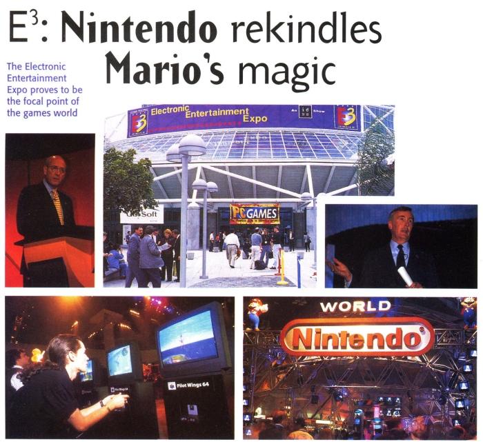 e3 1996 nintendo - Historia targów E3 z 1996 roku. Nintendo 64 wkracza na salony.