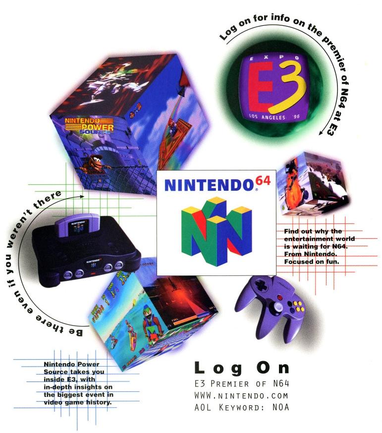 e3 1996 nintendo 64 3 - Historia targów E3 z 1996 roku. Nintendo 64 wkracza na salony.