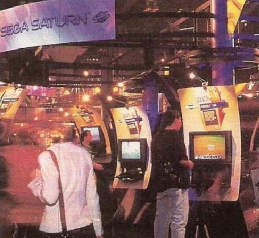 e3 1996 sega - Historia targów E3 z 1996 roku. Nintendo 64 wkracza na salony.