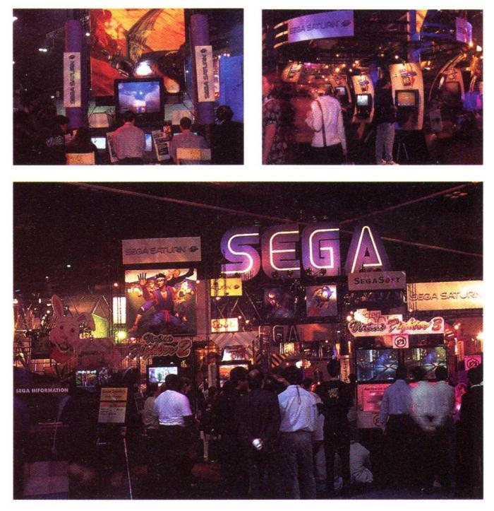 e3 1996 sega 2 - Historia targów E3 z 1996 roku. Nintendo 64 wkracza na salony.