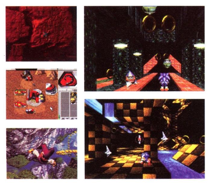 e3 1996 sega 3 - Historia targów E3 z 1996 roku. Nintendo 64 wkracza na salony.