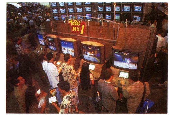 e3 1996 sony - Historia targów E3 z 1996 roku. Nintendo 64 wkracza na salony.