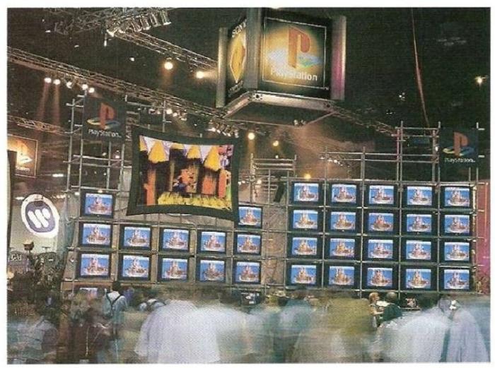 e3 1996 sony 3 - Historia targów E3 z 1996 roku. Nintendo 64 wkracza na salony.