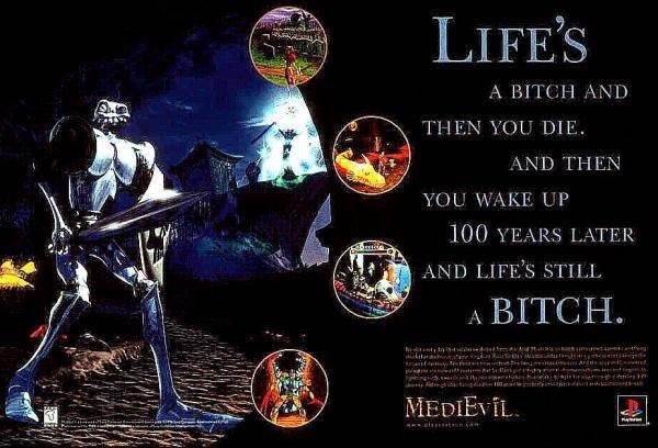 medievil ad - Dan Fortesque obchodzi dziś swoje urodziny. MediEvil ma już 20 lat!