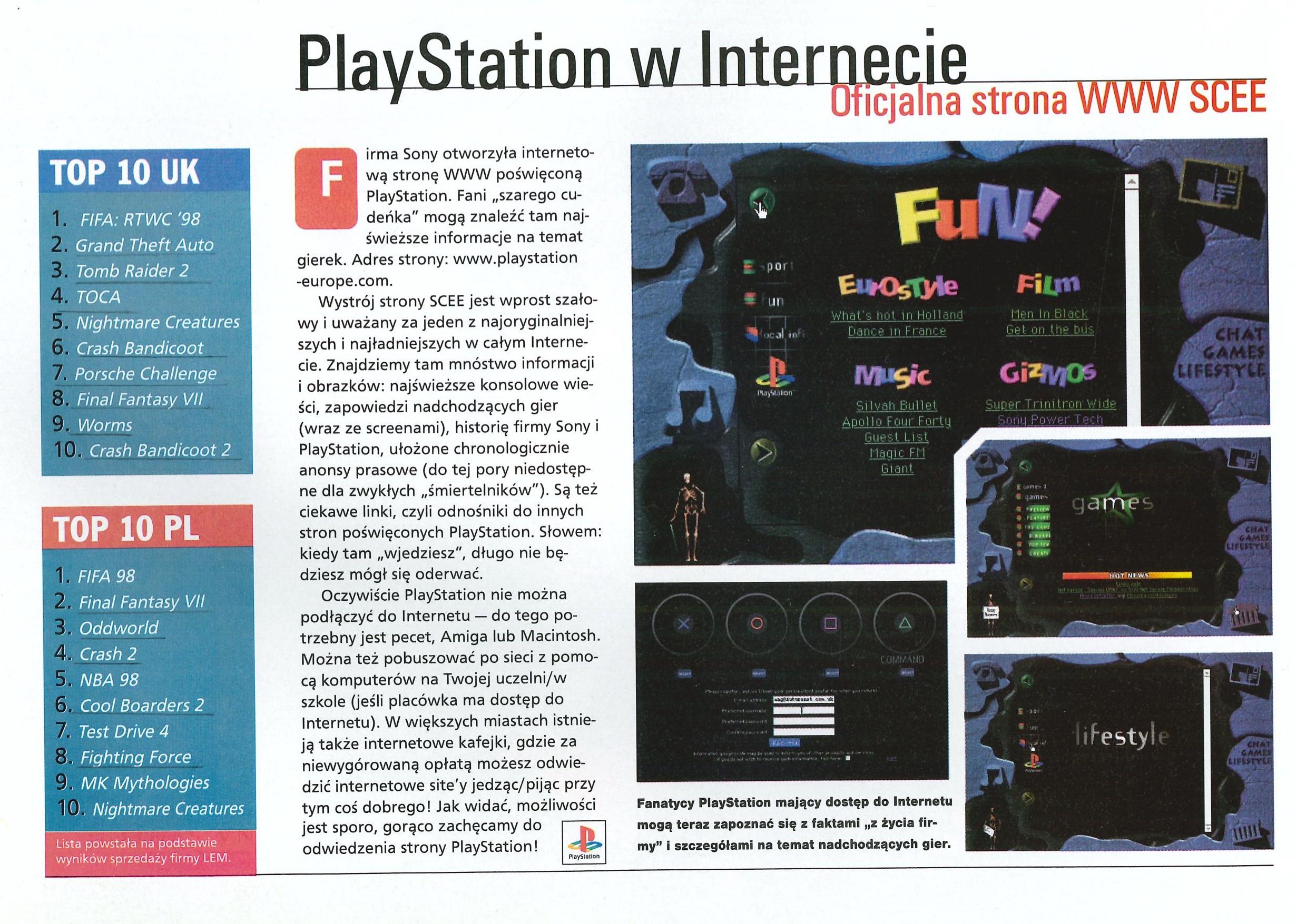 top 10 psx gier 2 - TOP 10 najlepiej sprzedających się gier na PSX w Polsce w latach 97-99