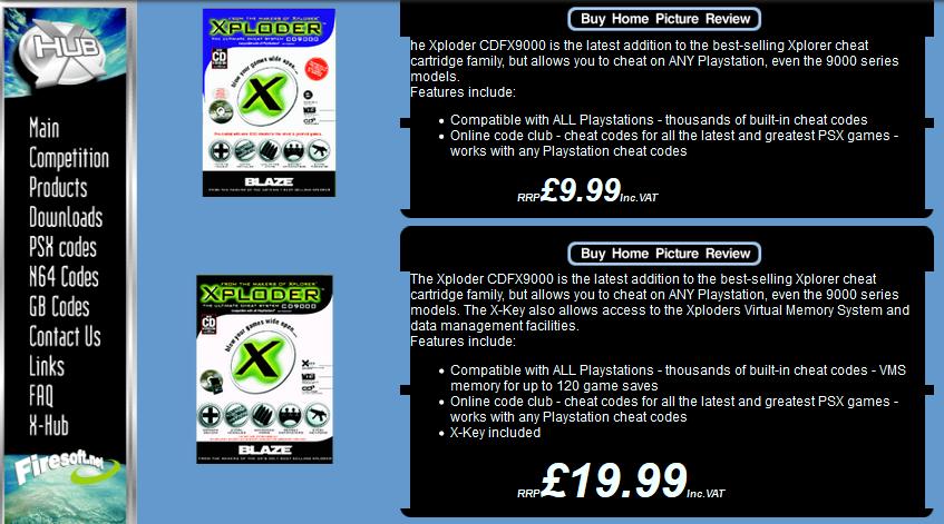 xplorer cd 9000 2 - Rodzina przystawek z serii Xplorer / Xploder