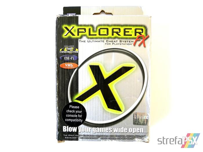 xplorer ps1 box 01 - Rodzina przystawek z serii Xplorer / Xploder