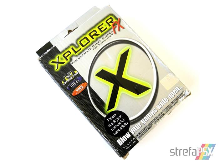 xplorer ps1 box 02 - Rodzina przystawek z serii Xplorer / Xploder
