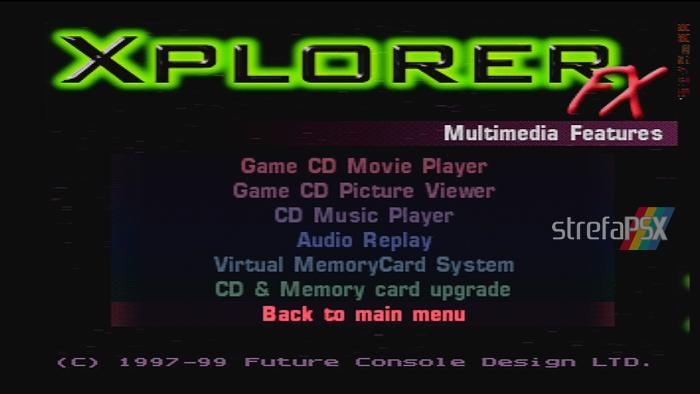 xplorer soft ps1 01 - Rodzina przystawek z serii Xplorer / Xploder