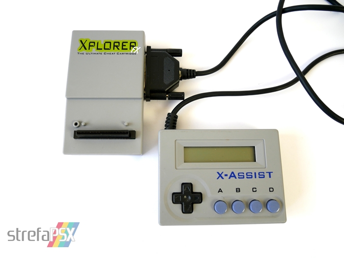 xplorer xploder psx 04 1 - Rodzina przystawek z serii Xplorer / Xploder