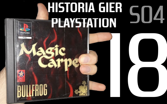 magic carpet - Historia Gier PlayStation