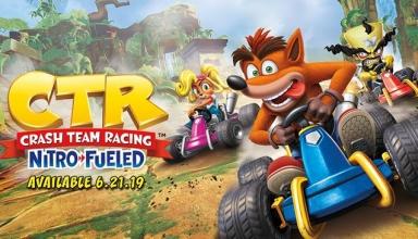 47575192 2190160631247919 8784008968511946752 n 384x220 - Crash Team Racing powraca! Klasyczny CTR powróci z opcją gry online.