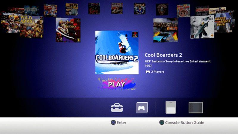 menu psclassic - PlayStation Classic - co poszło nie tak?
