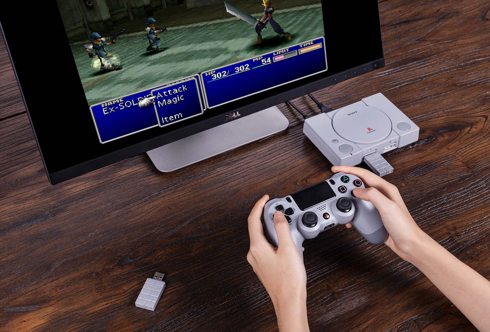 8bitdo playstation classic - Adapter PS3/PS4 to PS2 Controller otrzymał wsparcie dla PlayStation Classic