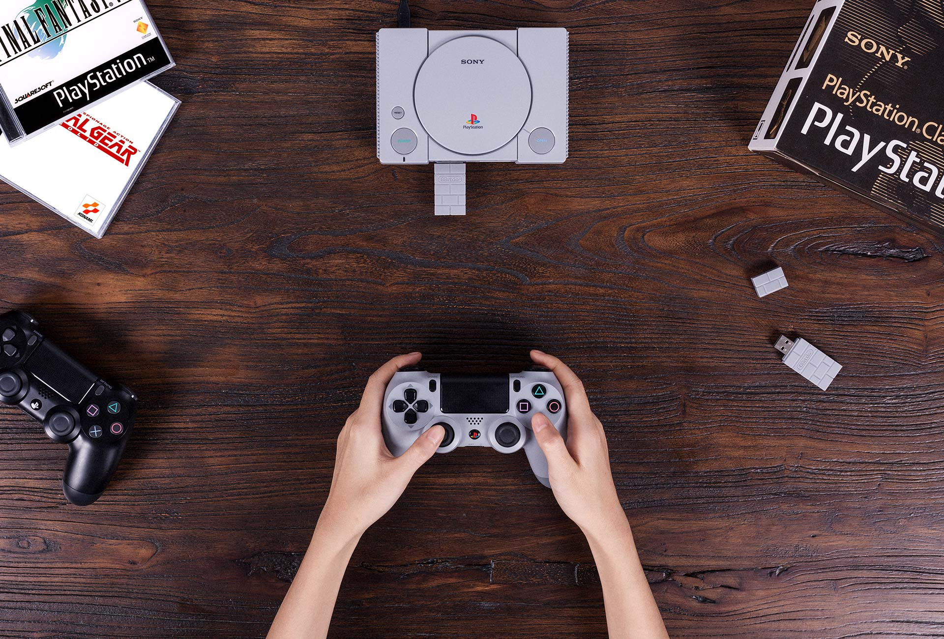 8bitdo playstation classic 2 - Adapter PS3/PS4 to PS2 Controller otrzymał wsparcie dla PlayStation Classic