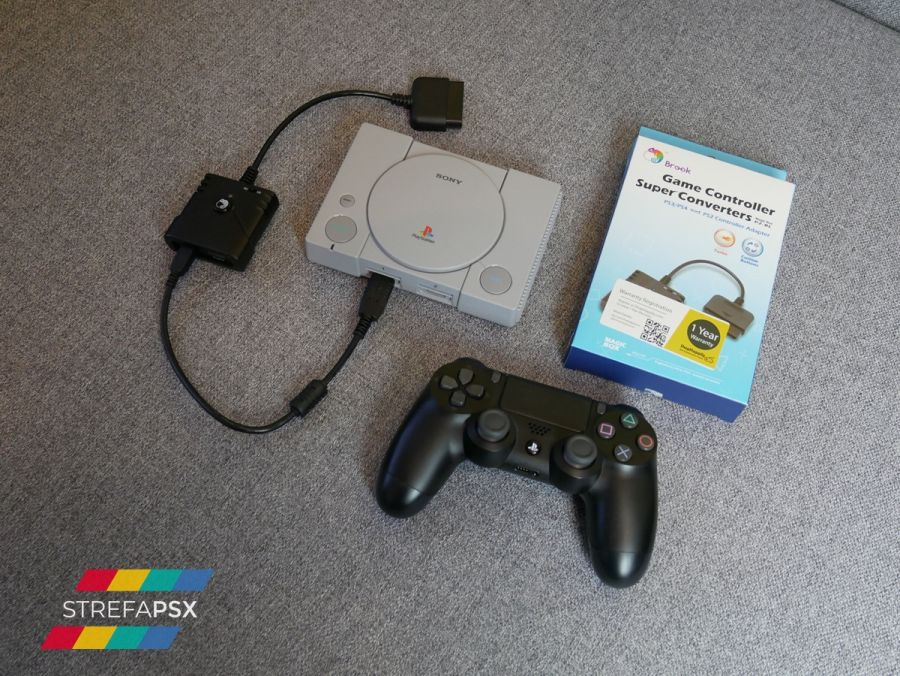 brook playstation classic 02 - Adapter PS3/PS4 to PS2 Controller otrzymał wsparcie dla PlayStation Classic