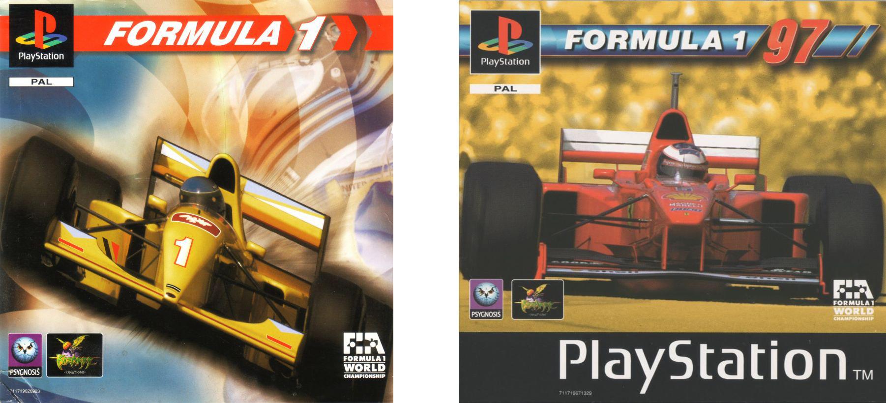 fomula one 96 97 - Limitowana edycja PlayStation Jordan Grand Prix. Niezwykła historia premiery gry Formula 1 97.