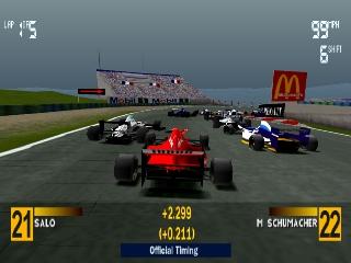 fomula one 97 4 - Limitowana edycja PlayStation Jordan Grand Prix. Niezwykła historia premiery gry Formula 1 97.