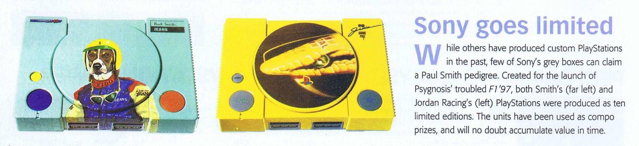 playstation f197 limited edition 18 - Limitowana edycja PlayStation Jordan Grand Prix. Niezwykła historia premiery gry Formula 1 97.