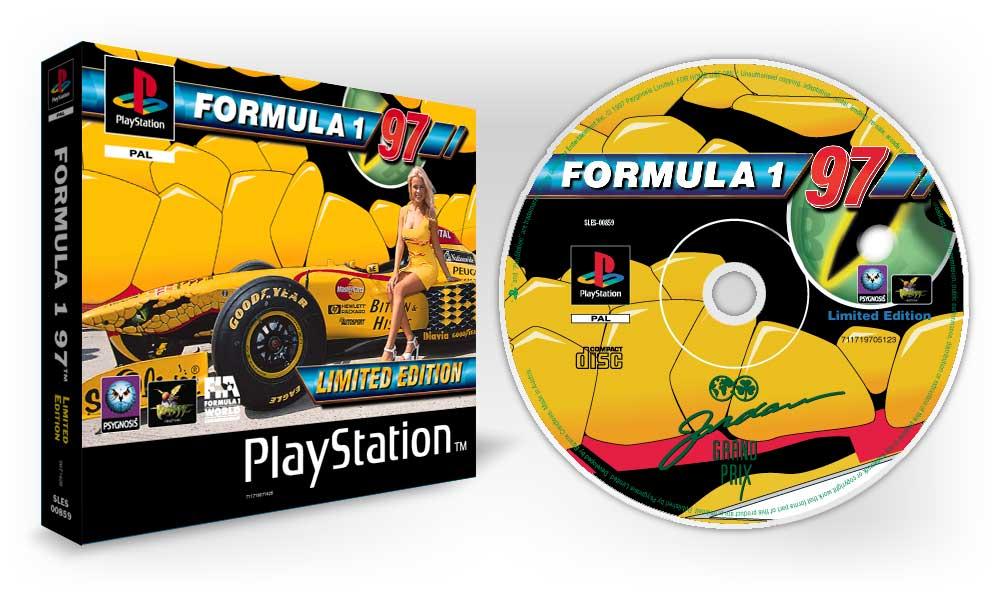 playstation f197 limited edition 19 - Limitowana edycja PlayStation Jordan Grand Prix. Niezwykła historia premiery gry Formula 1 97.