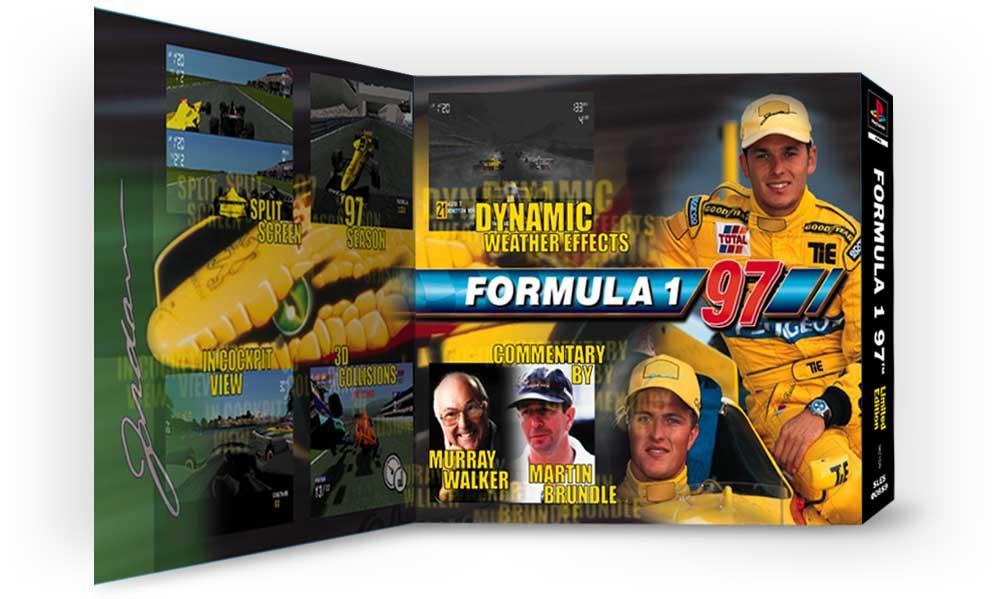 playstation f197 limited edition 20 - Limitowana edycja PlayStation Jordan Grand Prix. Niezwykła historia premiery gry Formula 1 97.