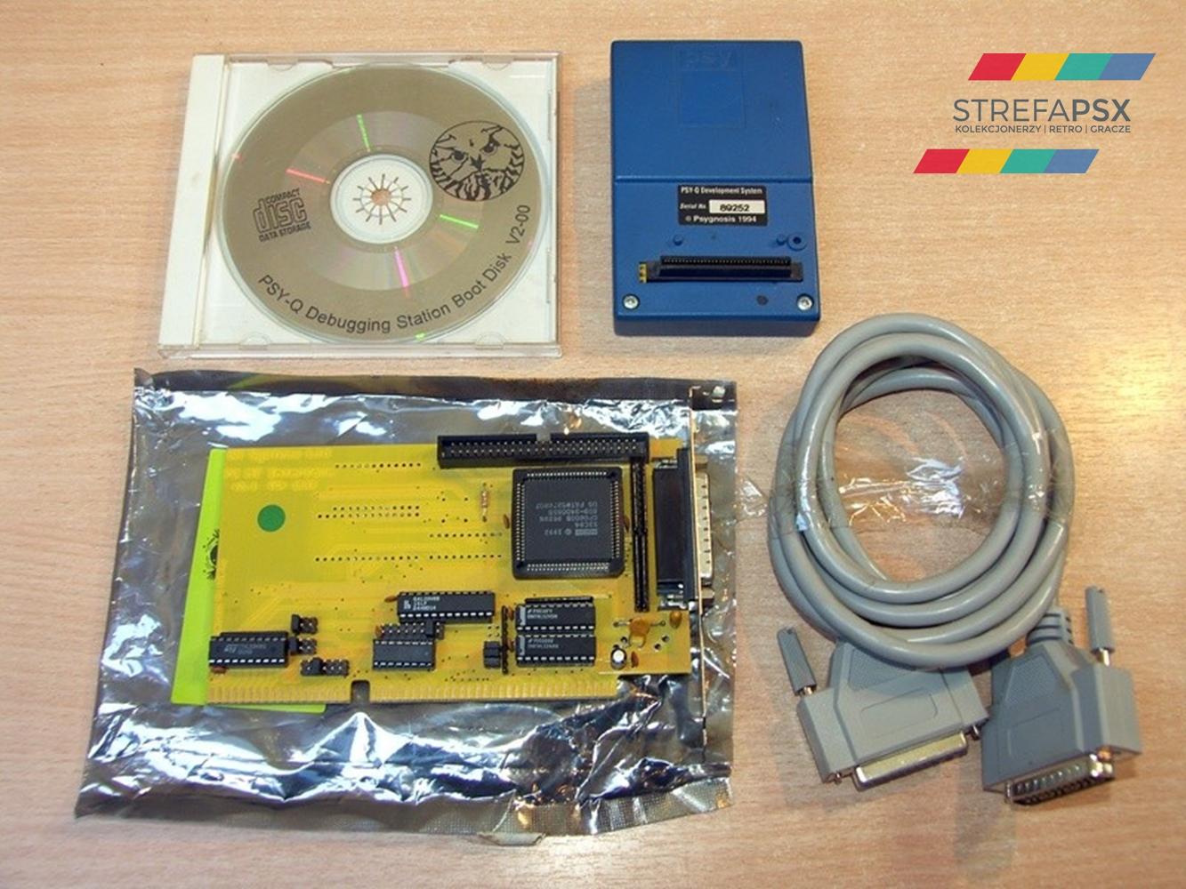 psy q development playstation 01 - Odkrywamy historię zestawów deweloperskich PlayStation