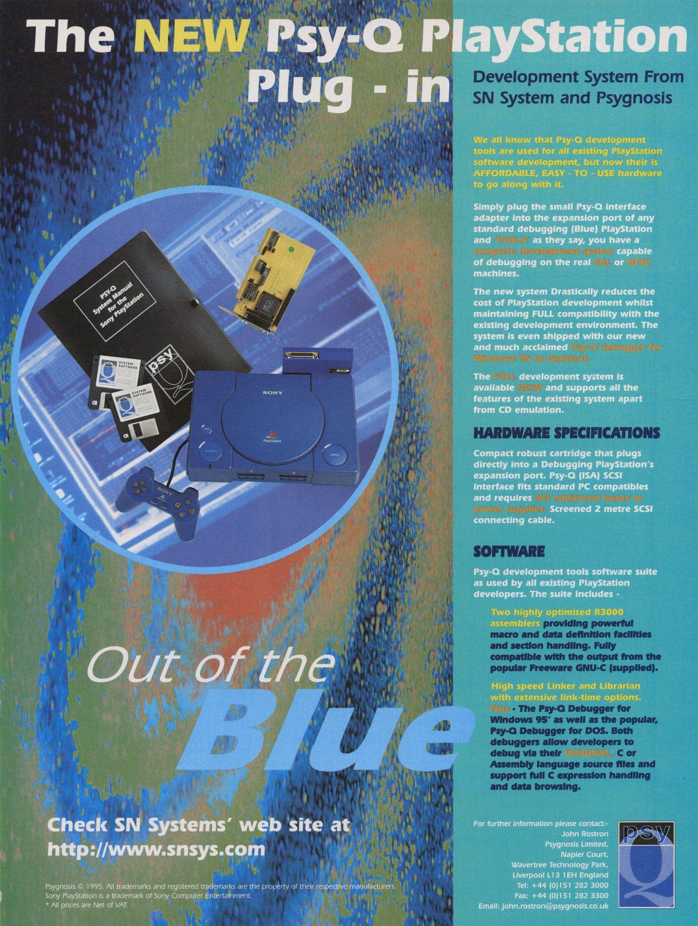 psy q playstation 2 1 - Odkrywamy historię zestawów deweloperskich PlayStation