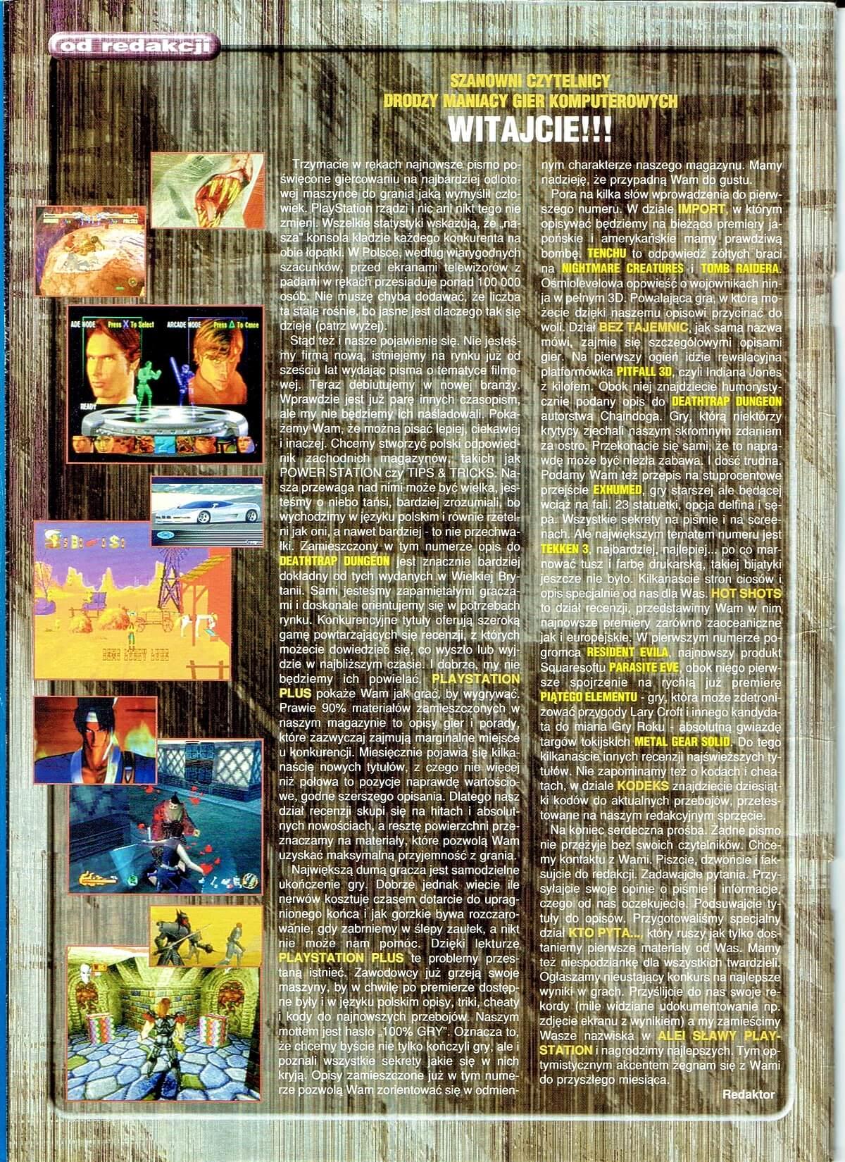 playstation plus magazyn 02 - PlayStation Plus 1/98