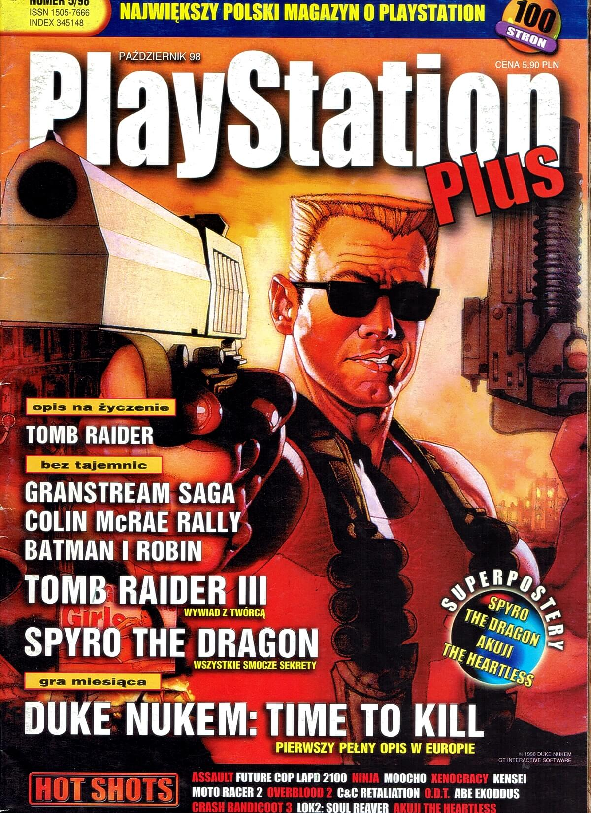 playstation plus magazyn 10 - PlayStation Plus 5/98