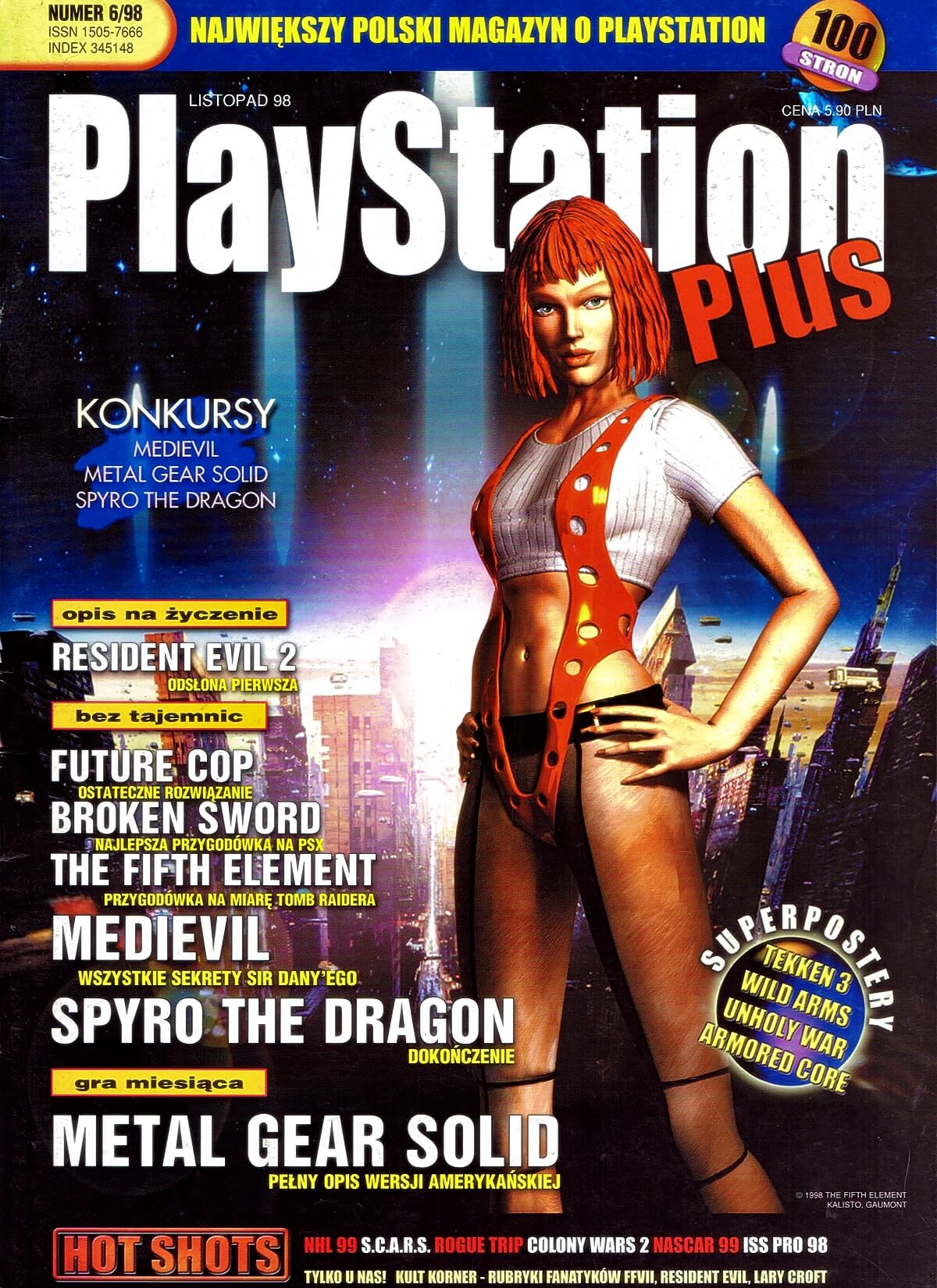 playstation plus magazyn 13 - PlayStation Plus 6/98