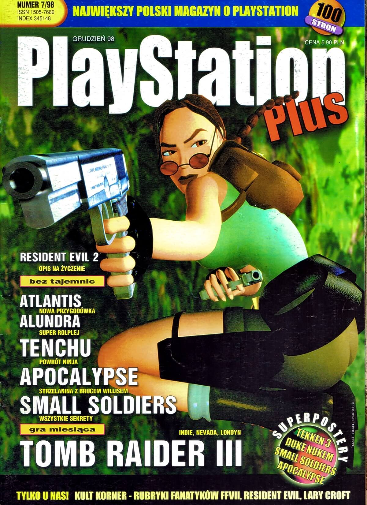 playstation plus magazyn 16 - PlayStation Plus 7/98