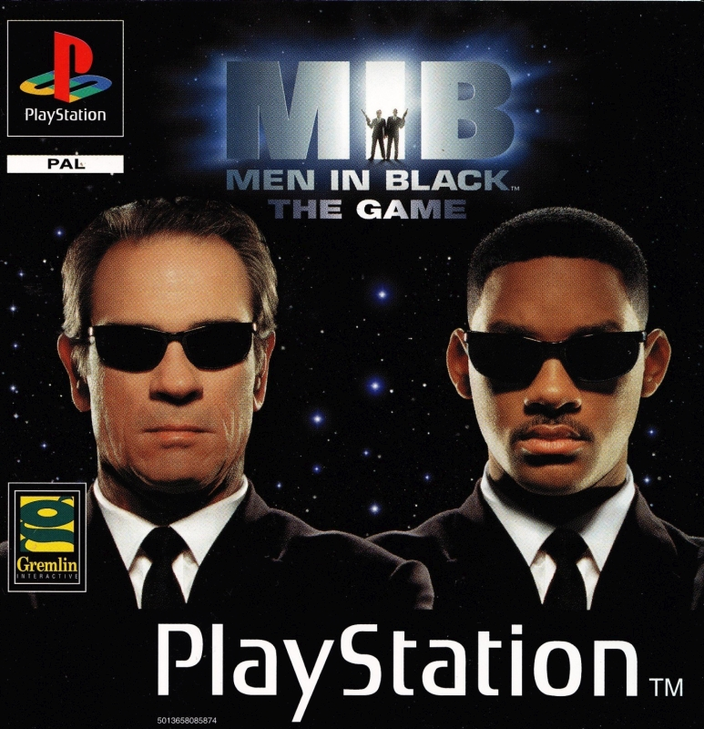 men in black cover - Limitowana edycja PlayStation Men in Black