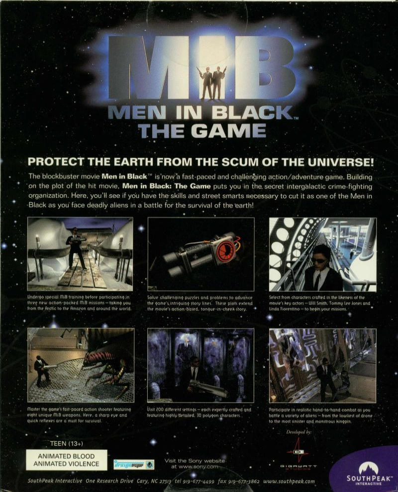 men in black game pc 2 - Limitowana edycja PlayStation Men in Black