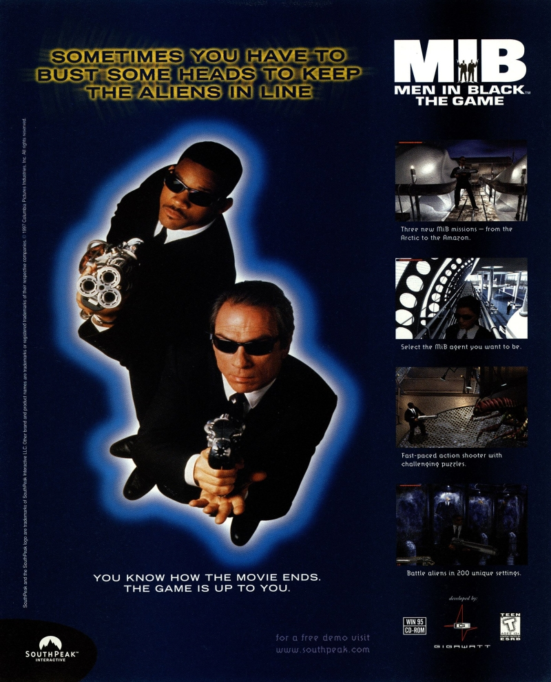 men in black game pc 3 - Limitowana edycja PlayStation Men in Black