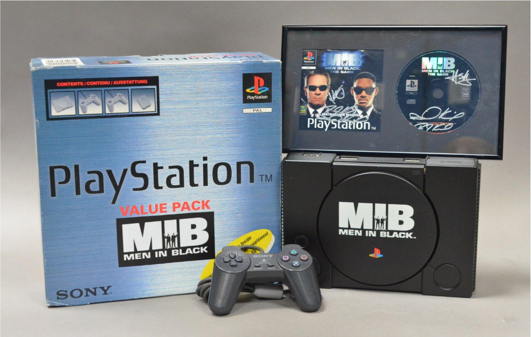 playstation men in black limited - Limitowana edycja PlayStation Men in Black