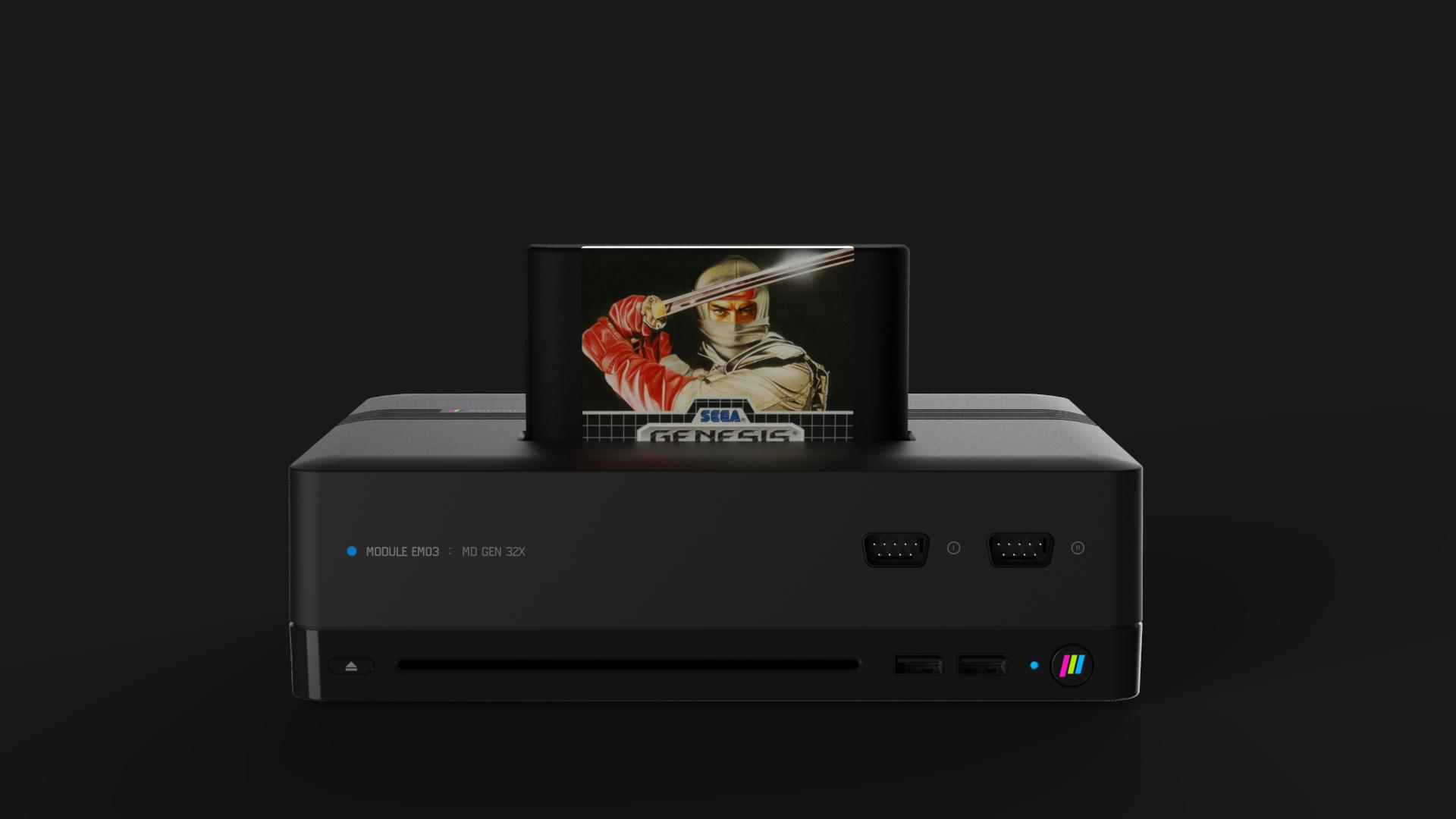 polymega sega 2 - Nowa konsola Polymega ze wsparciem m.in. dla PlayStation oraz Sega Saturn