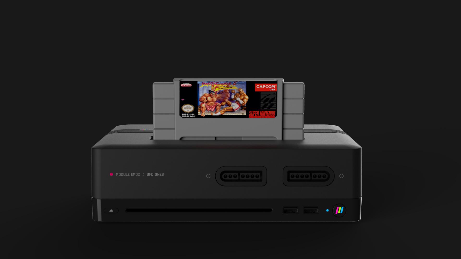 polymega snes 2 - Nowa konsola Polymega ze wsparciem m.in. dla PlayStation oraz Sega Saturn