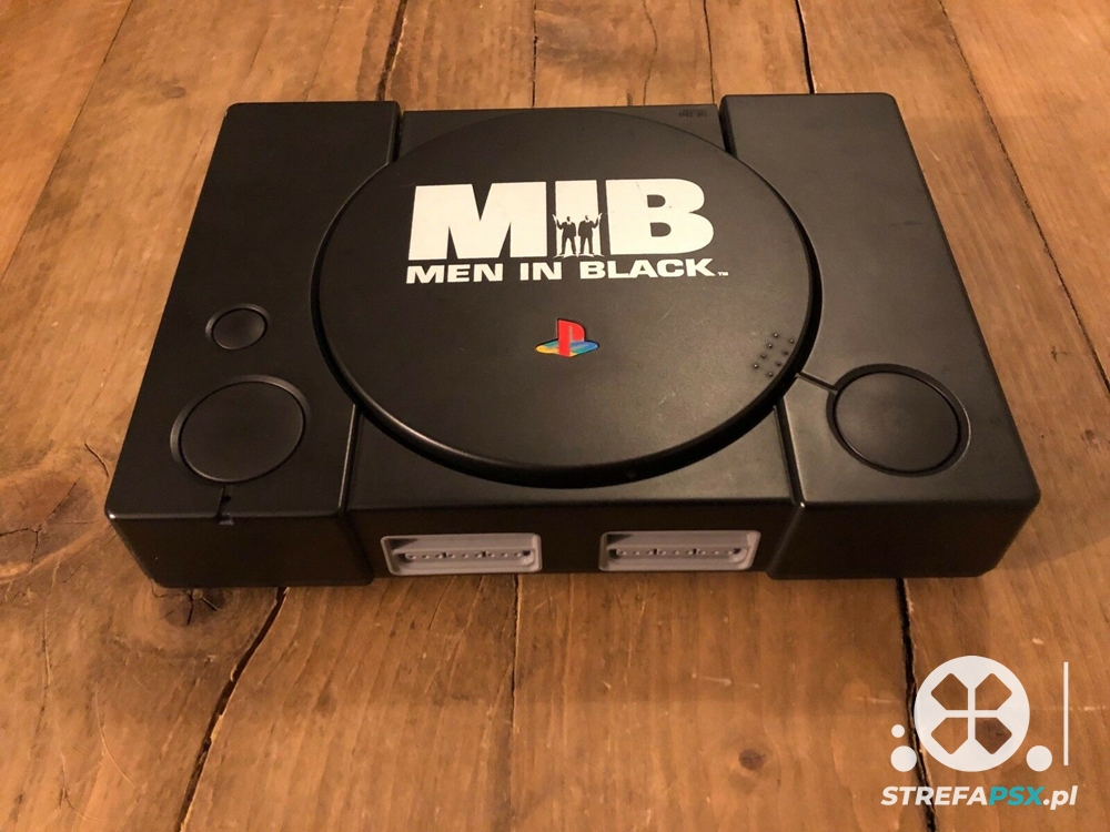 ps1 men in black limited 01 - Limitowana edycja PlayStation Men in Black
