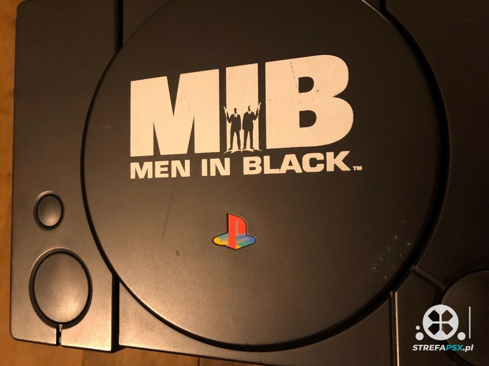 ps1 men in black limited 08 - Limitowana edycja PlayStation Men in Black