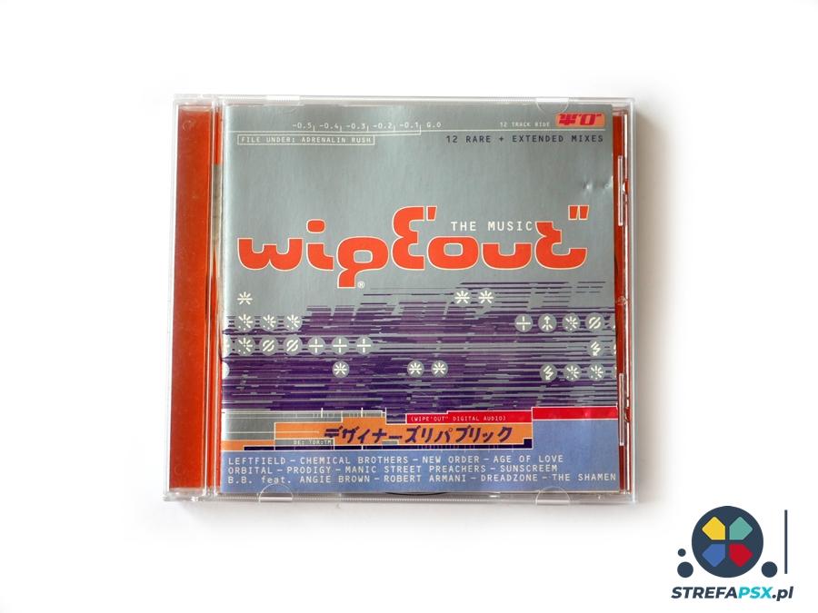wipeout soundtrack 01 - Soundtrack z Wipeout oraz Wipeout 2097 - zapowiedź rewolucji na polu muzyki w grach