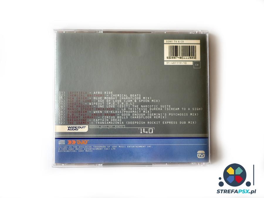 wipeout soundtrack 07 - Soundtrack z Wipeout oraz Wipeout 2097 - zapowiedź rewolucji na polu muzyki w grach