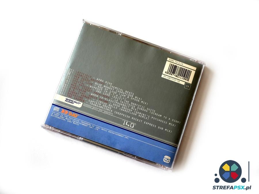 wipeout soundtrack 09 - Soundtrack z Wipeout oraz Wipeout 2097 - zapowiedź rewolucji na polu muzyki w grach