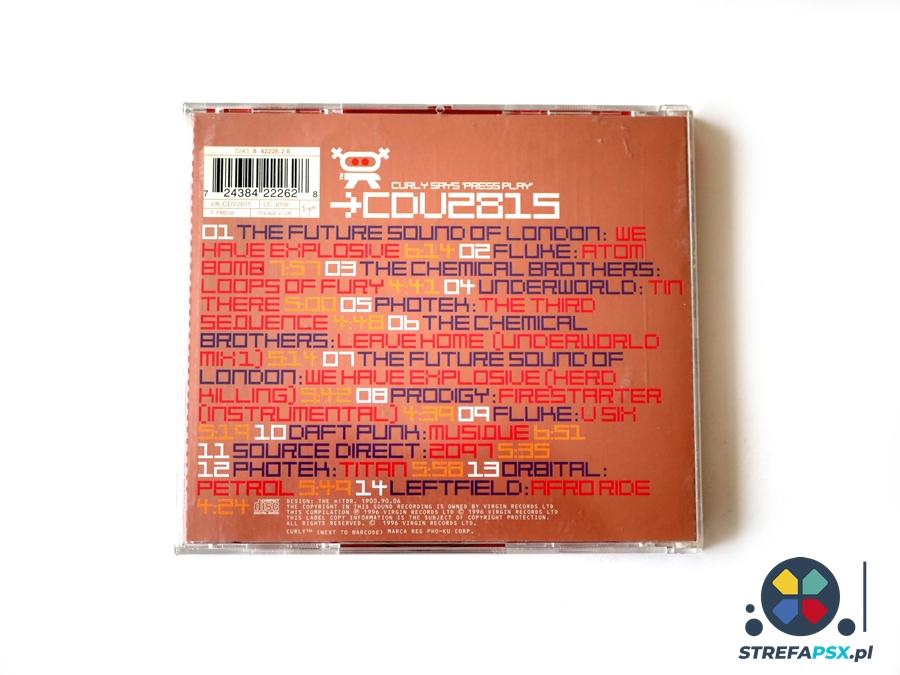 wipeout soundtrack 18 - Soundtrack z Wipeout oraz Wipeout 2097 - zapowiedź rewolucji na polu muzyki w grach