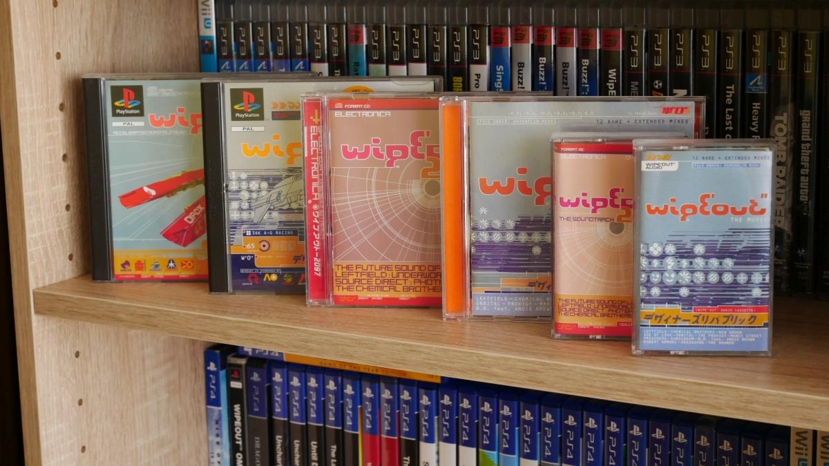 wipeout soundtrack 3 - Soundtrack z Wipeout oraz Wipeout 2097 - zapowiedź rewolucji na polu muzyki w grach