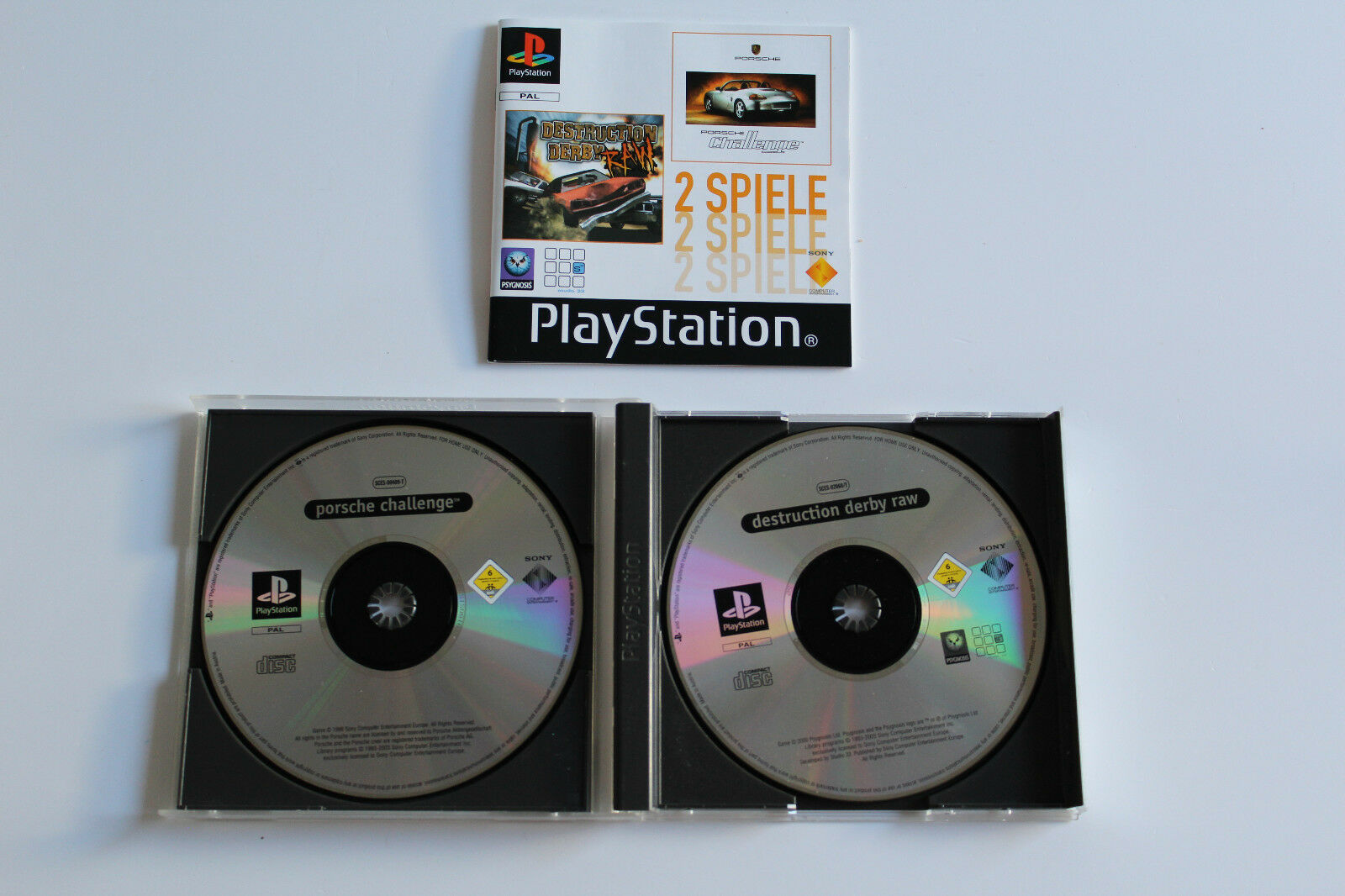 11571276 item main PS1 2GWHOWHO A 1 - Na tropie historii edycji gier - 2 Games / Twin Pack / Double Pack